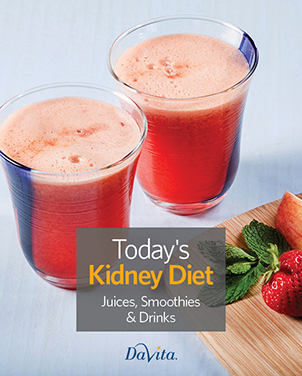 Today's Kidney Diet - Juices, Smoothies & Drinks